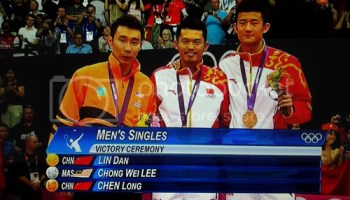 Datuk Lee Cong Wee, Lin Dan & Chen Long