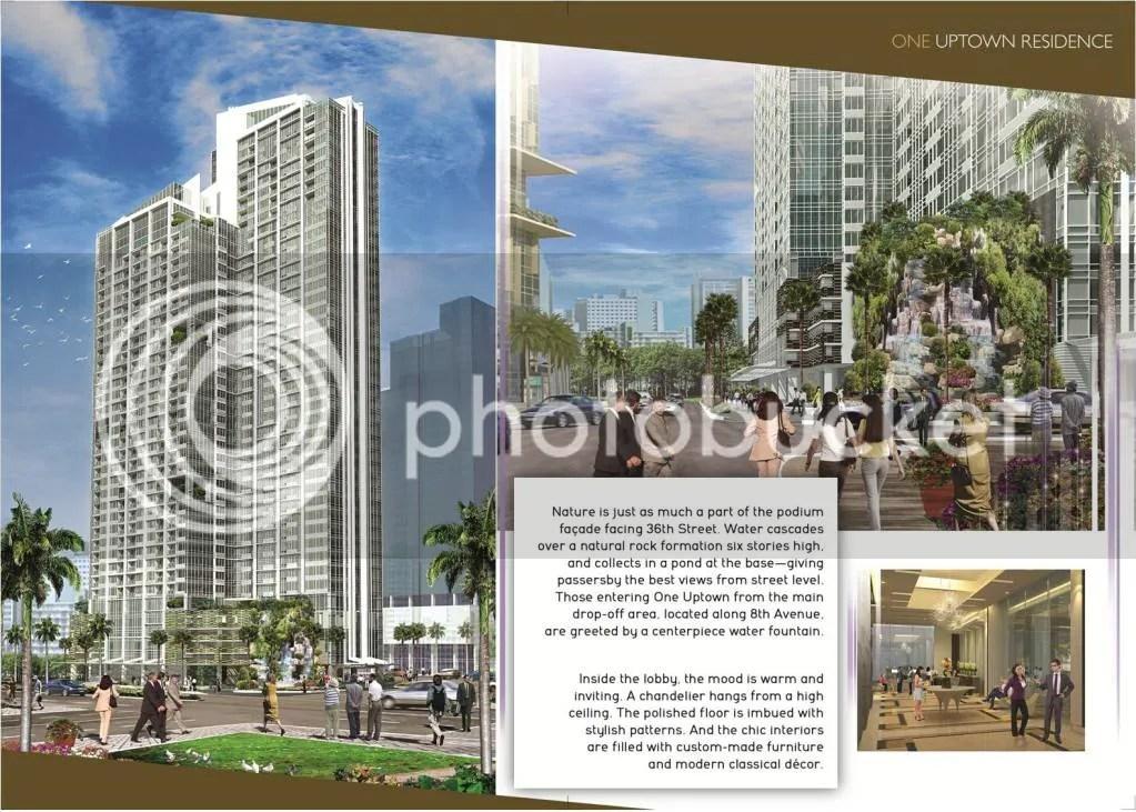 uptown Bonifacio building facade