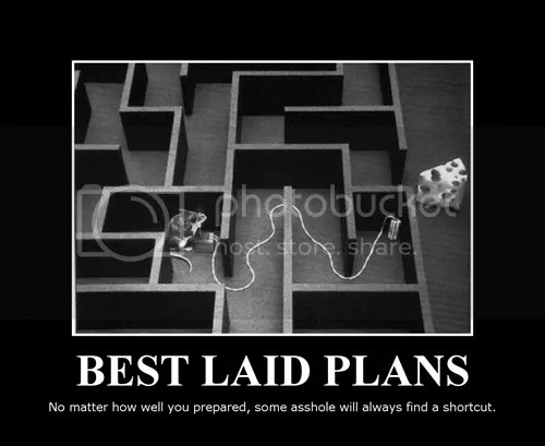 Not all plans survive
