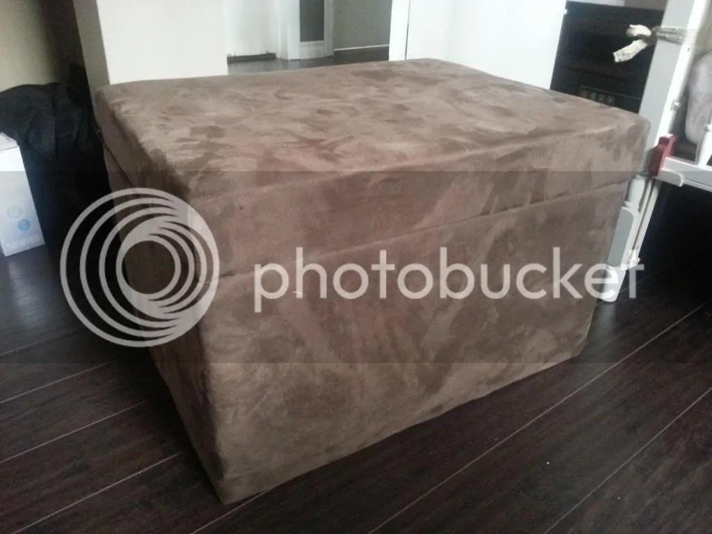 Reupholster an Ottoman