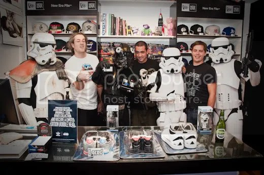 Past Weekend Saw Episode 1 Of The Adidas Star Wars Pack Drop At Brisbanes Best Sneaker Store Laced And The Dark Forces Were In Attendance Thanks To The