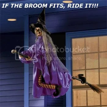 funny witch photo: Flying Witch flying-witch-halloween-decoration-3.png