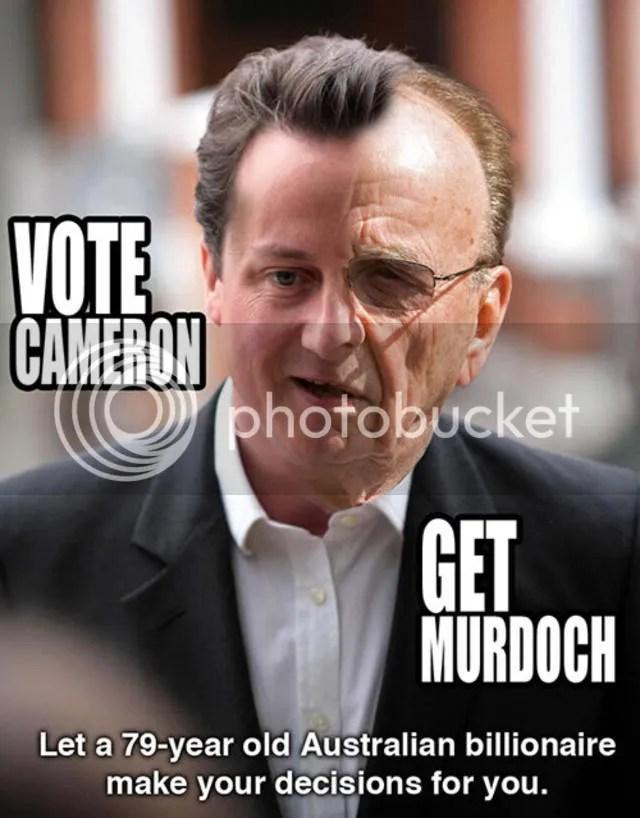 Murdoch & Cameron Must Fucking Die Die Die
