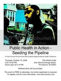 Public Health in Action – Seeding the Pipeline is a youth-focused summit happening during the New England Regional Minority Health Conference.