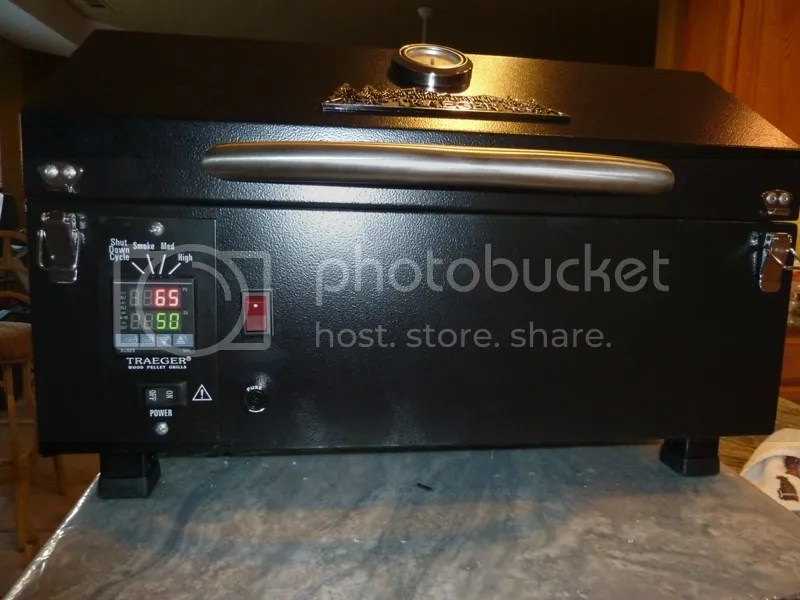 Traeger PTG modified with Auber SYL 2372 PID Controller