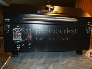 Traeger PTG modified with Auber SYL2372 PID Controller  Smokin' Pete's BBQ