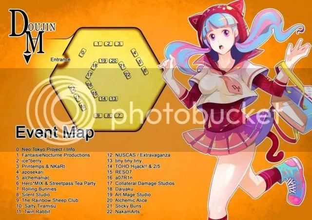 doujima map