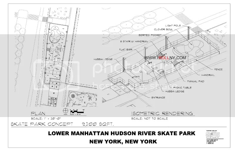 First Look at the Pier 25 Skatepark Plans