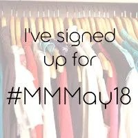 I've signed up for #MMMay18