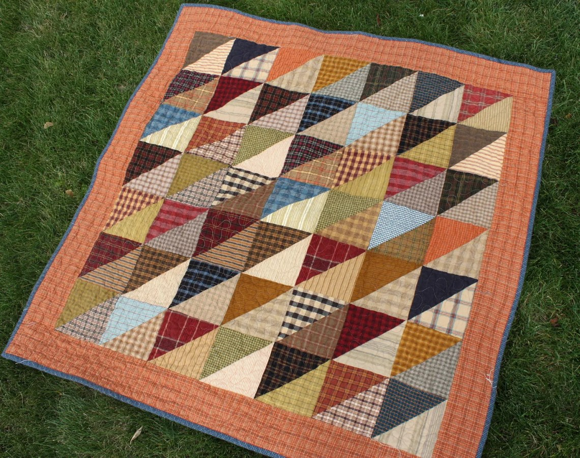 bc1da4fc Finished plaid quilt (and other random stuff) | Diary of a Quilter ...