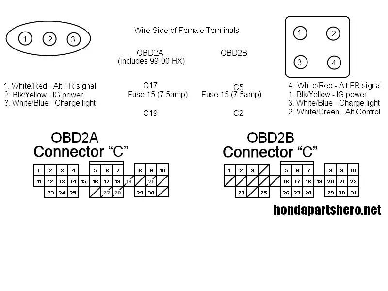 Diagram Cs130 Alternator 3 Wire