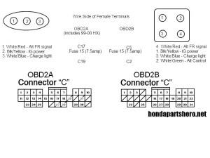 3 wire to 4 wire obd2 square alternator plug  HondaTech  Honda Forum Discussion