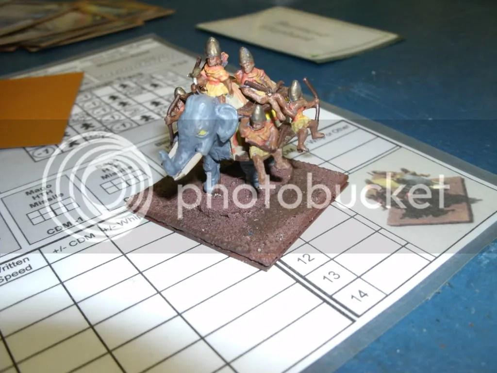 Burmese War Elephant