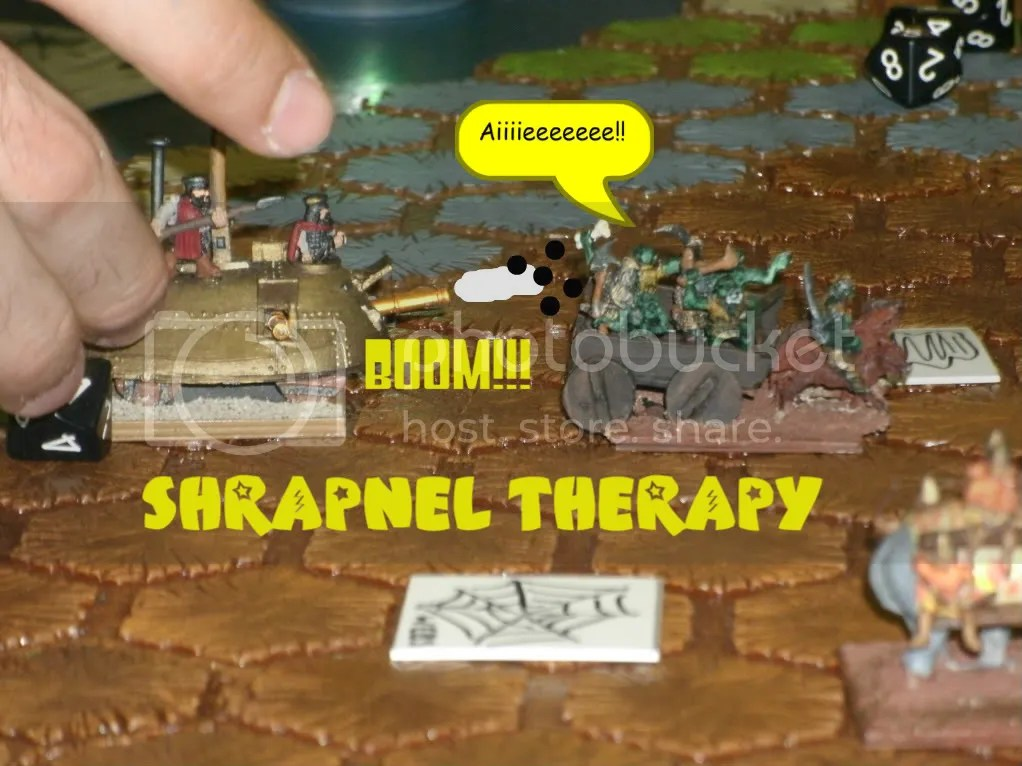 "The Da Vincis give the Orcs ""Shrapnel Therapy"""