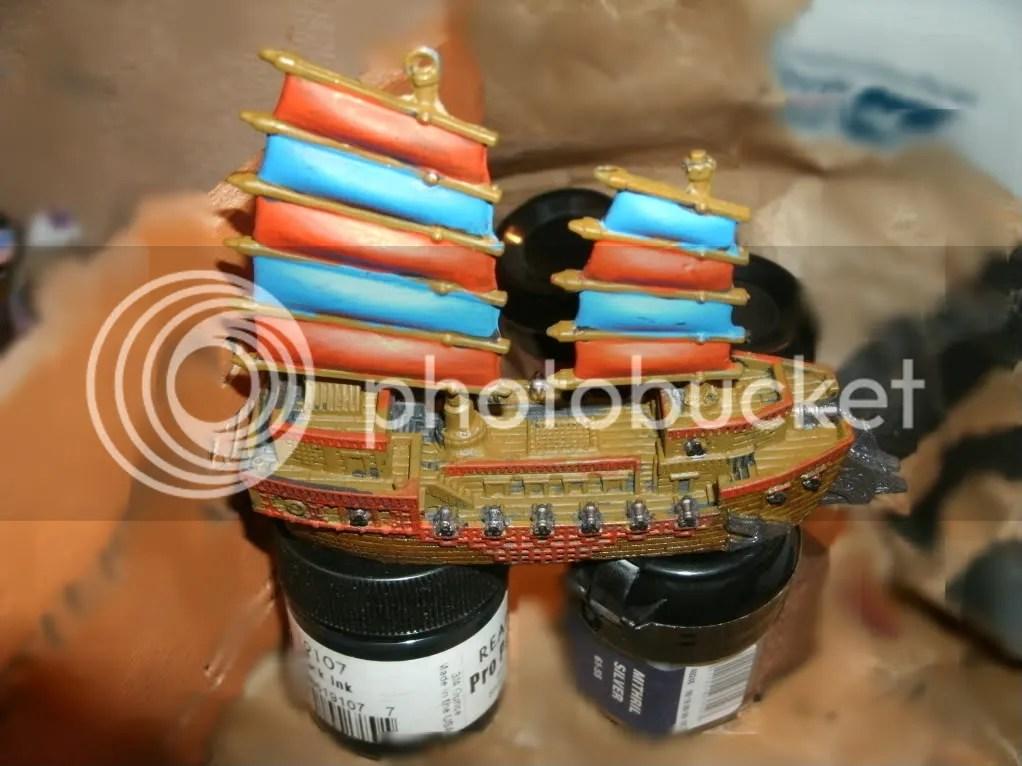 The colorful RalGard Heavy Cruiser, still in work