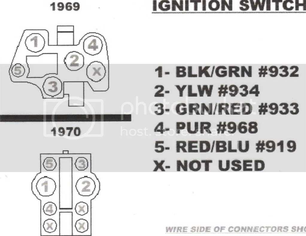 1969 ford mustang ignition switch wiring diagram ... 1968 mustang headlight wiring diagrams