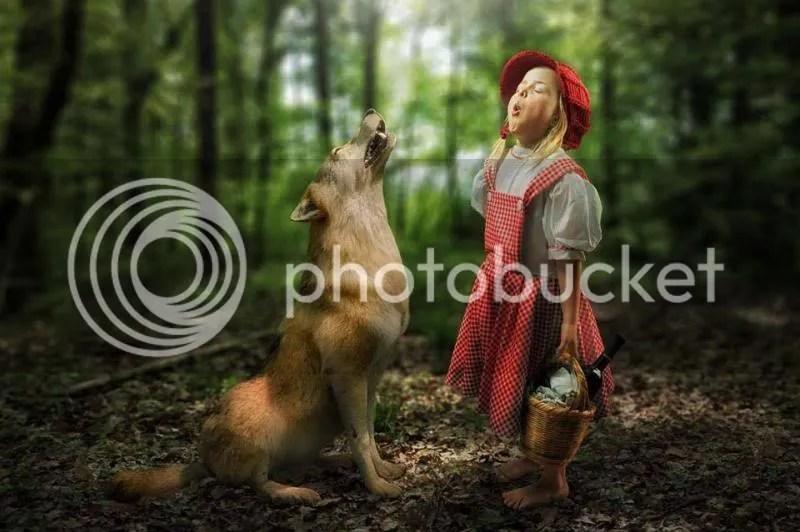 Le Petit Chaperon rouge hurle avec le Loup photo loupchaperonrougechante_zpsa65ec23e.jpg