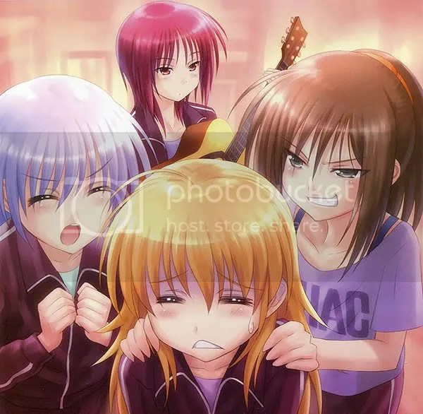 Angel Beats Extra Chapter 2 Illu. 3:  The Music Nut