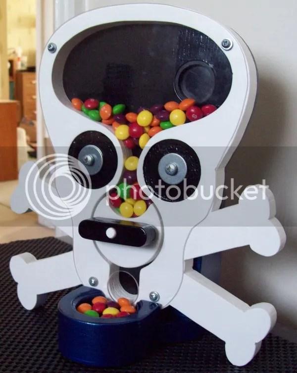 Homemade Candy Dispenser