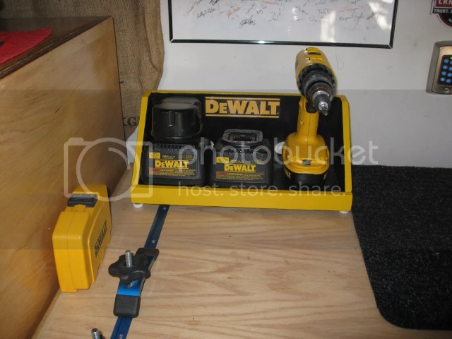 charging station for your power tools i like how ron ward made this