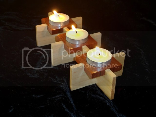 Wood Projects Candle Holder