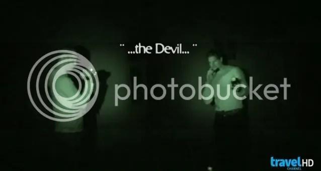 Ghost Adventures, Devil Voice