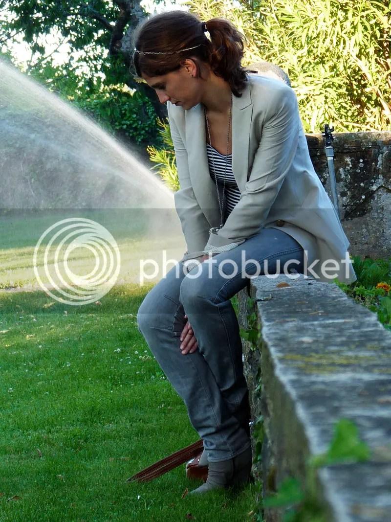 En verano, me cambio de blazer/ My summer blazer