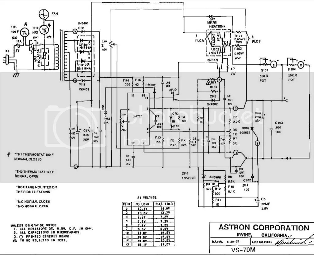 13 8v 80a Linear Ps Circuit Designysis For Ham Radio Use