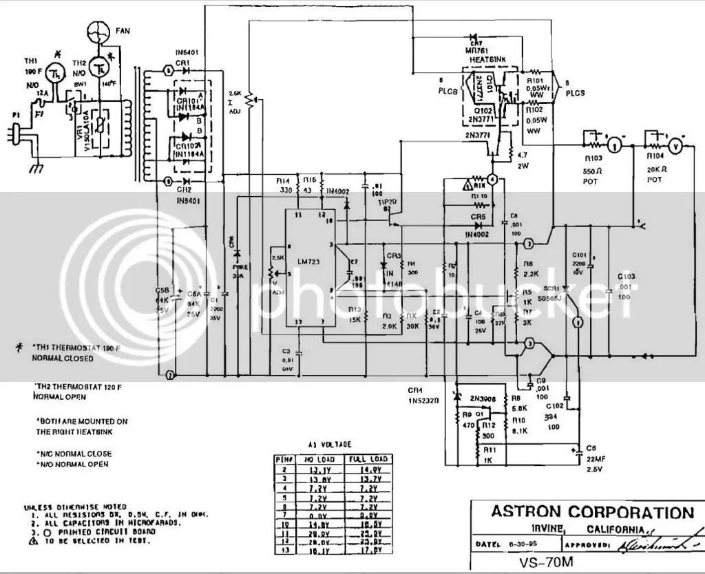 13 8v 80a Linear Ps Circuit Designysis For Ham Radio