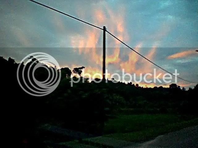 Awan Allah di Padang