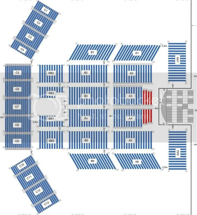 JYJ Showcase Seat Plan