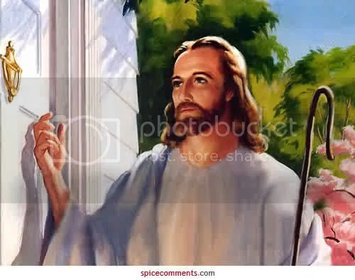 Jesus standing at your door Pictures, Images and Photos