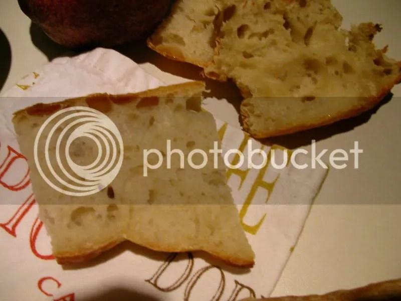 Baguette Crumb