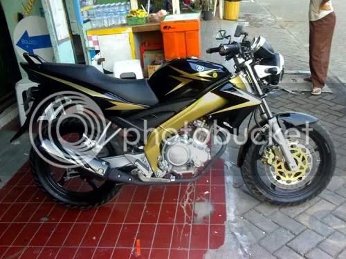 terbaru modifikasi motor vixion 2009