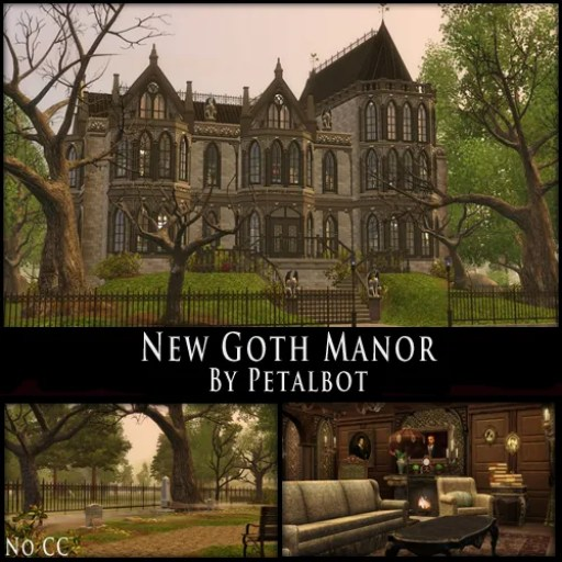 New Goth Manor Petalbot S Builds