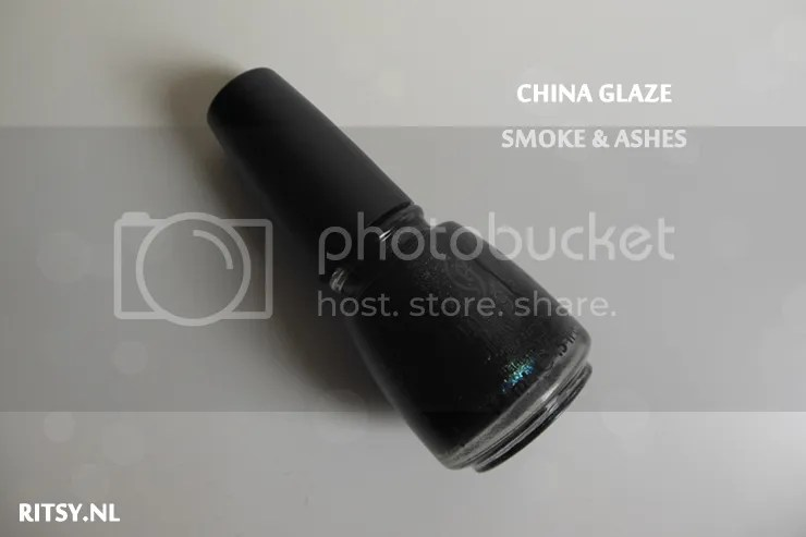 China Glaze - Smoke and Ashes