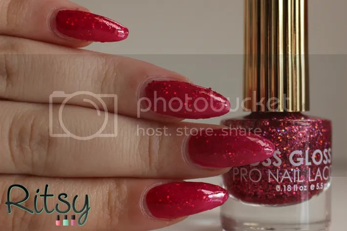 Floss Gloss Second Base sandwich with OPI Pen & Pink
