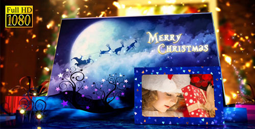 Christmas Pop-Up Book 6484518 - Project for After Effects (Videohive)