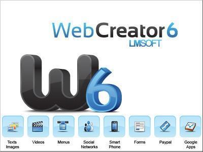 LMSOFT Web Creator Pro 6.0.25.3 Portable