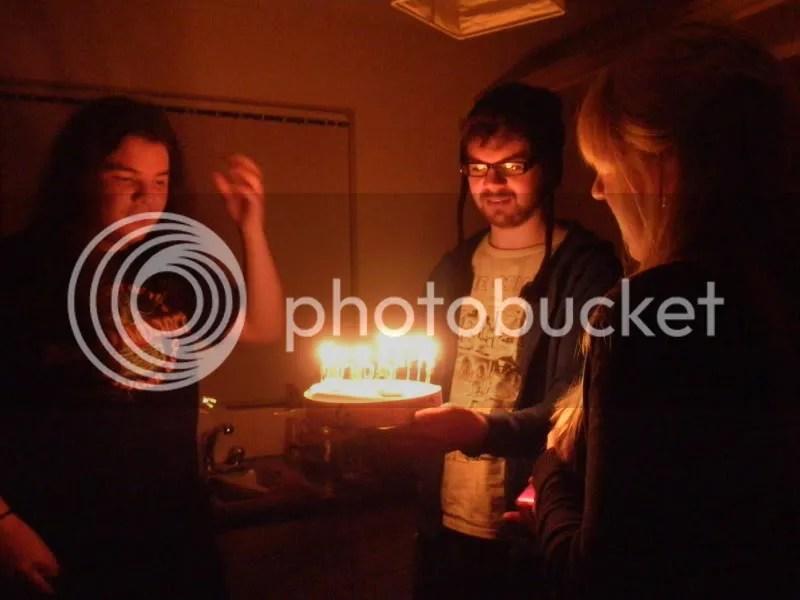 Anto's birthday cake.