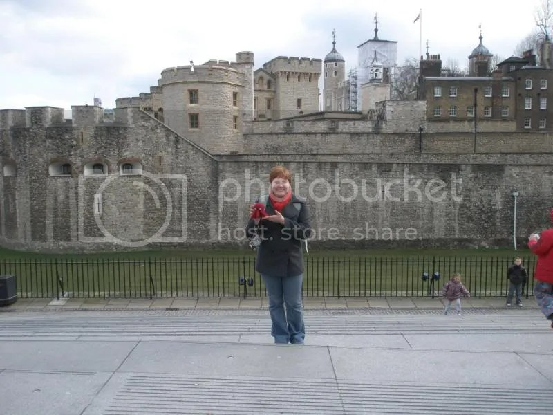 Otto and me at the Tower of London.
