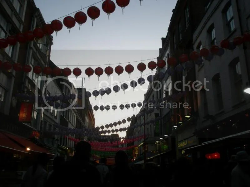 Chinatown in London.