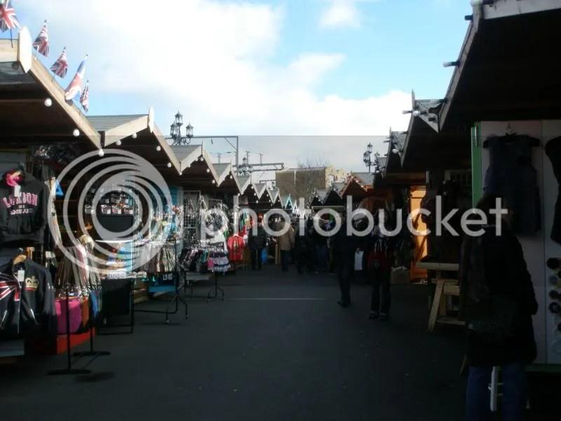 Camden Market Stalls.