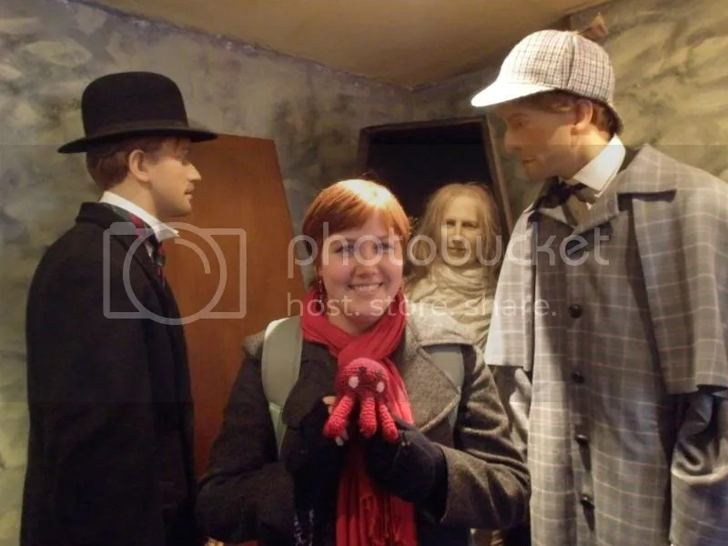 Holmes, Watson, Otto and me.