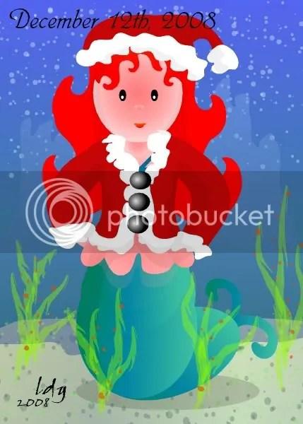 Christmas Mermaiden