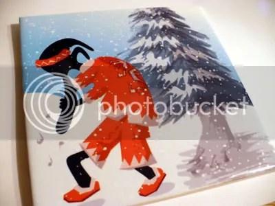 Koko Santa Pelli Art Tile