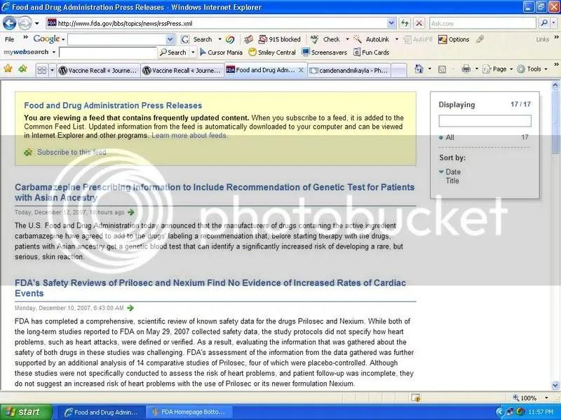 FDA Press Releases
