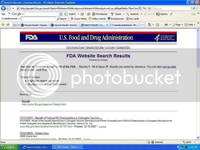 FDA Search