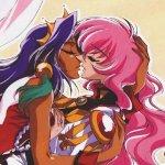 Un joli baiser issu de Utena