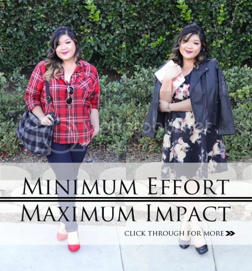 Curvy Girl Chic Plus Size Fashion Blog Target Ava and Viv Maximum Impact Minimum Effort Holiday Looks